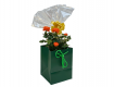 Anniversary flowers and Treats Gift Basket flower