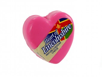 Heart of Lincolnshire Mature Cheddar cheese