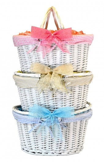 White Shopper Basket