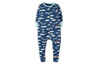 Frugi Marine Blue Babygrow For Boy 6-12 months