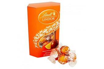 Lindt Lindor Chocolate Orange Truffles Box 200g