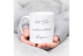 Let The Adventure Begin Gift Mug