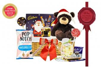 Bear-ey Christmas Gift Basket
