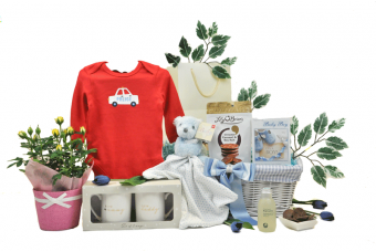 Blooming Parents and Baby Gift Basket