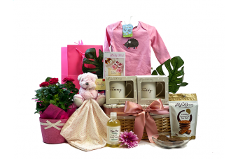 Blooming Parents and Baby Girl Gift