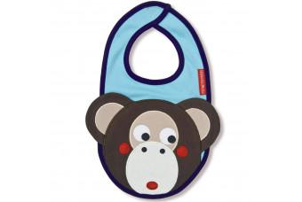 Michael the Monkey Bib by Olive & Moss