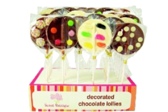 Sweet Boutique Chocolate Lolly