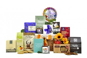 Classic Thank You Gift Basket