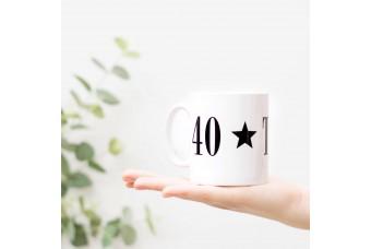 40th Birthday Gift Mug