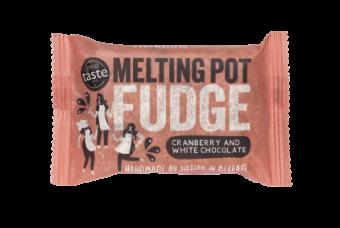 Melting Pot Cranberry & White Chocolate Fudge