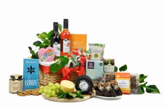 Anniversary English Wine Hamper
