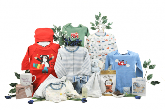 Fabulous Mummy and Baby Boy Hamper