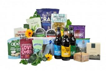 Cheese & Beer Gift Basket