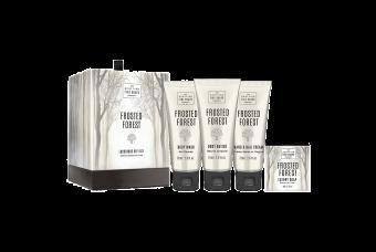Scottish Fine Soaps Frosted Forest Luxury Essentials Drum Gift Set