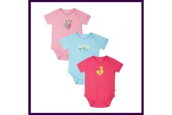 Frugi Organic Baby Girl Bodysuit