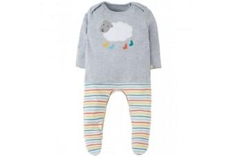 Frugi Arlo Sheep Baby Grow Outfit