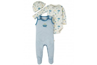 Frugi Giggling Gift Set - Baby Boy