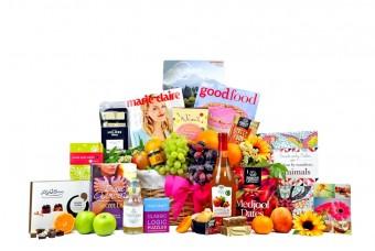 Get Well Fruit Survival Gift Basket - For Her