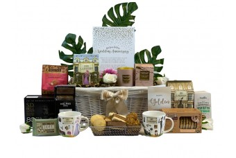 Golden Anniversary Gift Basket