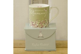 Gorgeous Mummy China Gift Mug by Rufus Rabbit