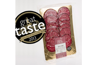 Green Pepper Venison Salami 90g