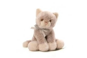 Gund Oh So Soft Kitty Rattle Toy