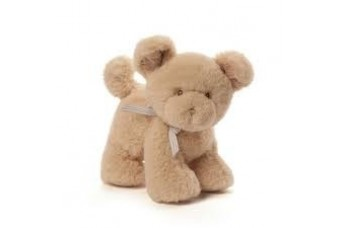 Gund Oh So Soft Puppy Rattle Toy