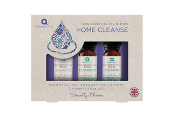 Essential Oil Therapy Collection Home Cleanse by Aroma Home