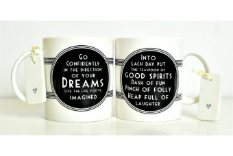 Inspirational Message Mug