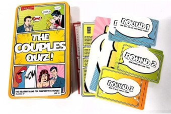 The Couples Quiz by Lagoon Games