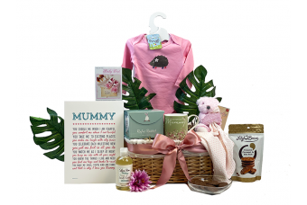 Love Mummy & Baby Girl Basket