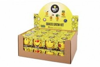 Novelty Grass Growing Kit by Mr Fothergill UK