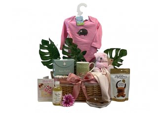Mummy and Baby Girl Gift Basket