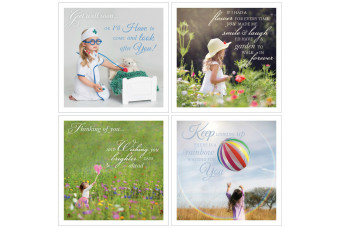 """""""Wishing on a Star"""" Affirming Quotes Gift Cards"""