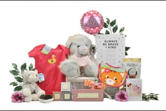 Collectible Baby Girl Gift Basket