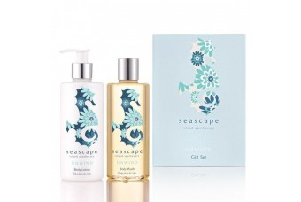 Unwind Duo Wash and Lotion Gift Set by Seascape Island Apothecary
