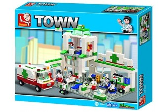 Hospital from the Sluban Town Collection