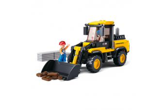 Forklift Construction Set from the Sluban Town Series