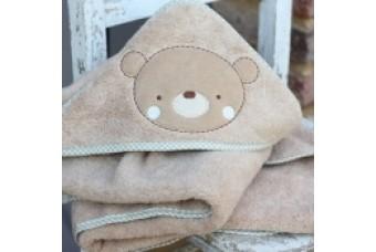 Natures Purest Teddy & Ele Cuddle Robe