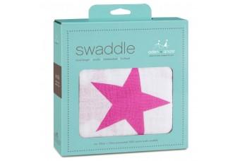 Aden + Anais Twinkle Pink Swaddle