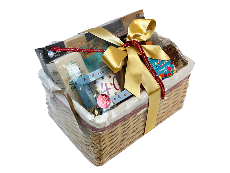 50th Birthday Fancy Pantry Gift Hamper Delivered