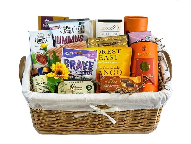 Balanced Health Gift Basket in the basket