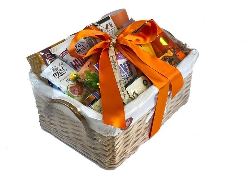 Balanced Health Gift Basket packed