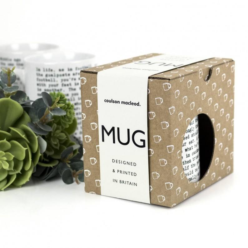 40th Birthday Gift Mug Box