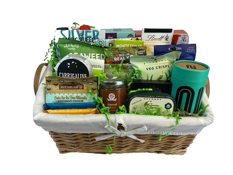 Diabetic Delicacy Gift Basket Packed