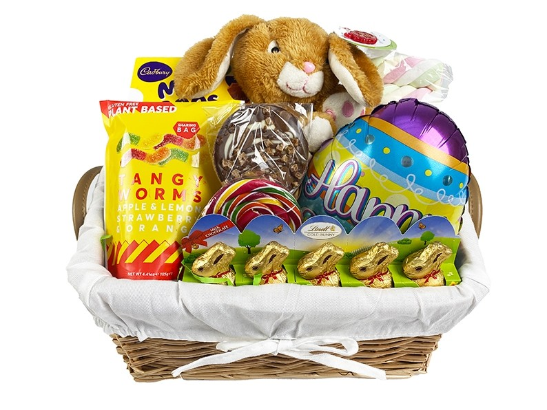 Easter Bunny Basket Packed