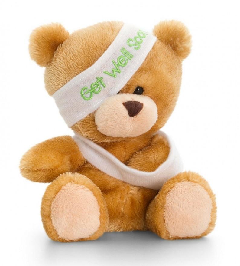 Pipp Bear Get Well Keel