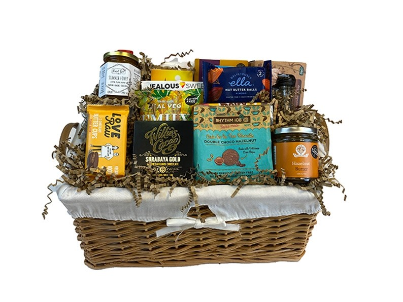 Planet Friendly Gift Basket Packed