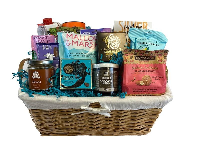 Pleasant Pregnancy Gift Basket Packed
