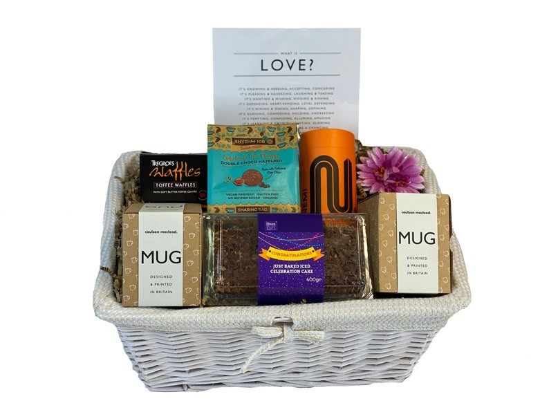 Relationship Anniversary Gift Hamper Packed